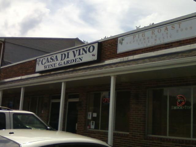 Casa Di Vino entrance