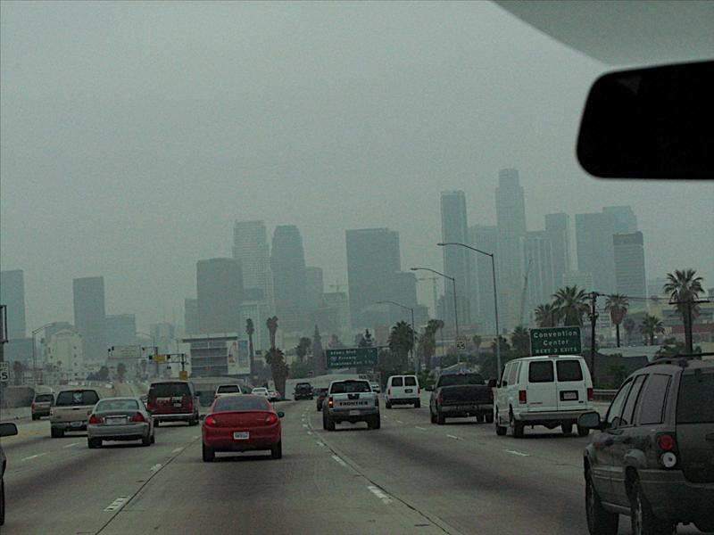 Overcast Downtown LA