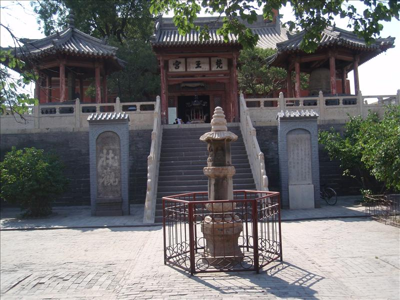 Lower Huayan Temple complex