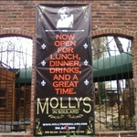 Molly's Restaurant in historic Soulard