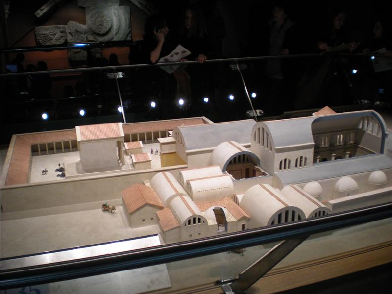 Model of The Roman Baths - 27th May