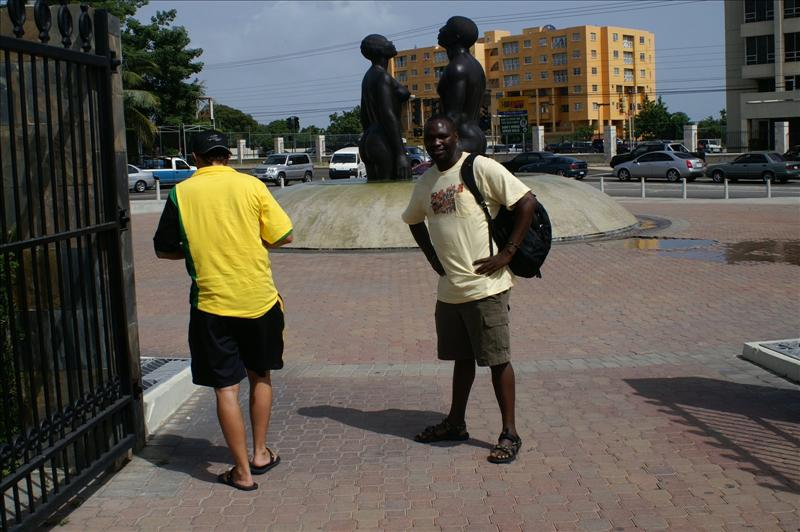 The Emancipation park - Kingston jamaica