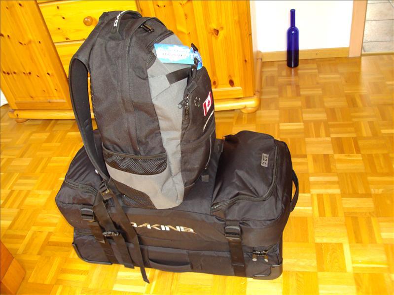 ...und nach dem Packen