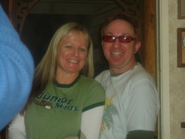 my uncle Brett and his wife Cathi
