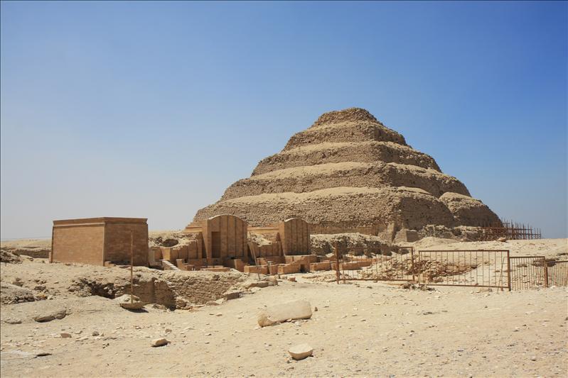 Trappenpyramide van Djoser