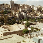 amman seen from the roman theatre