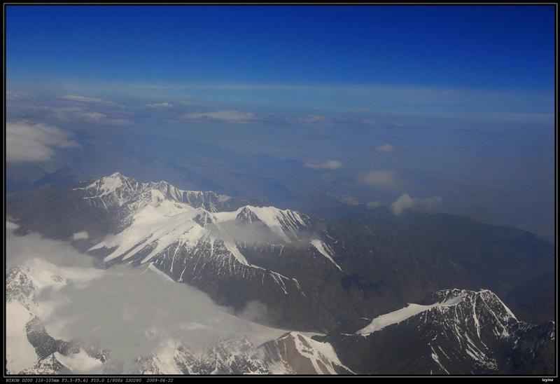 那拉提-乌鲁木齐航线 天山