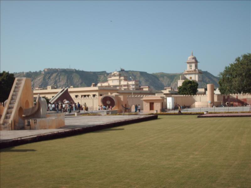 Jantar Mantar astronomical observatory ca. 1720