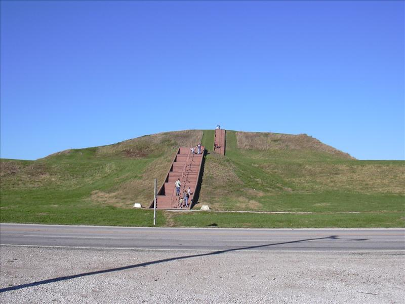 The primary North American indian mound