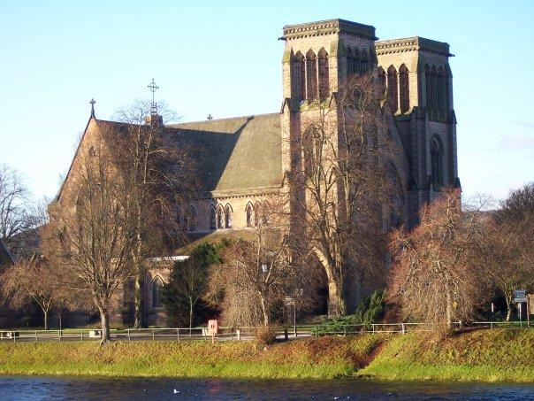 ST ANDREW'S CATHEDRAL, INVERNESS, DEC 2007