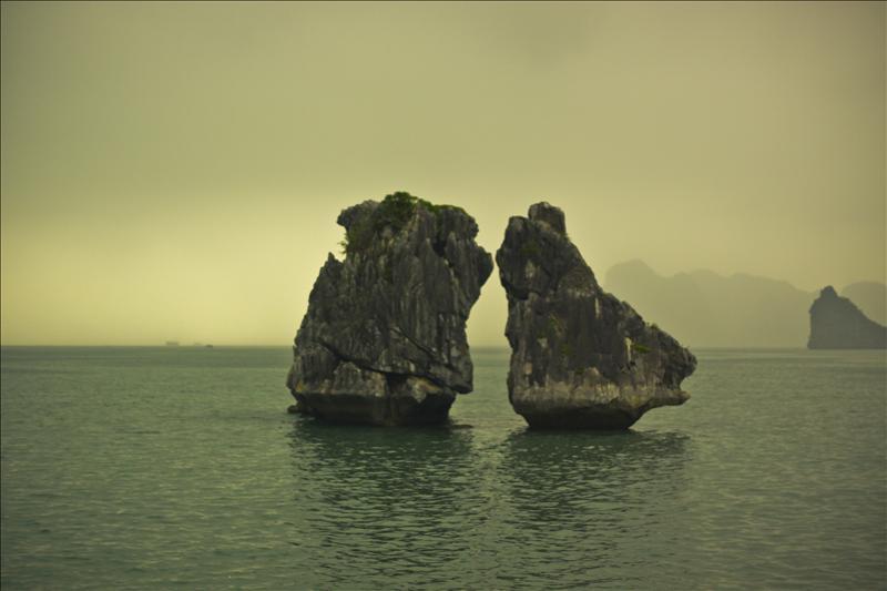 The Kissing Rocks