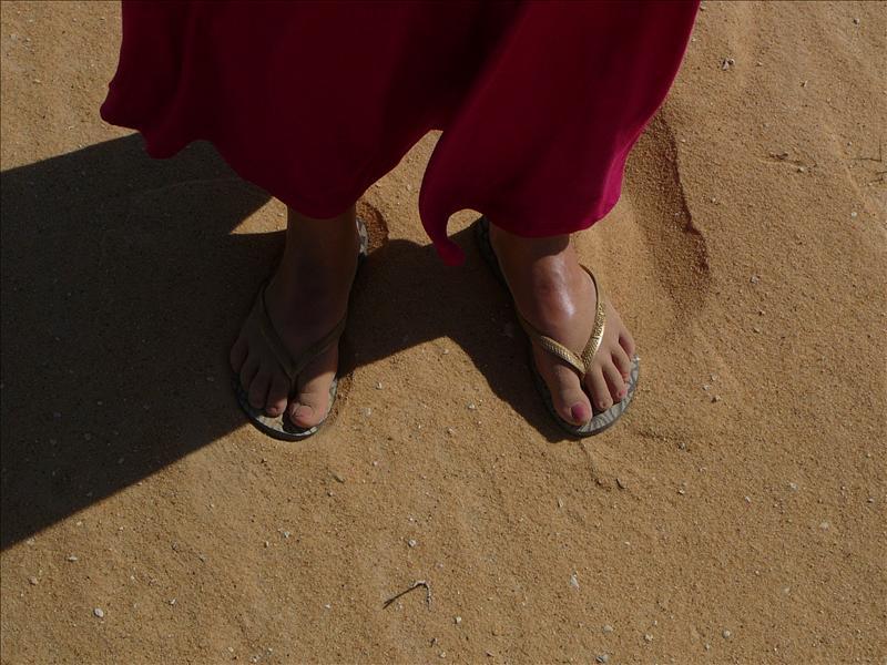 Siwa - Woestijn Voetjes Fay