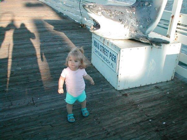 Katie on the Daytona Pier