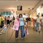 Hj Mariam and I at Casuarina Square Darwin