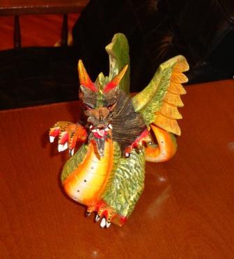 dragon bali