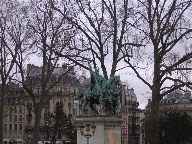 巴黎圣母院广场