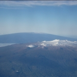 Hilo - Mauna Kea and Mauna Loa (on the plane to Honolulu)
