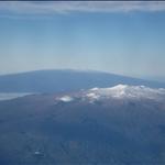 Hilo - Mauna Kea and Mauna Loa (on the plane to Honolulu)