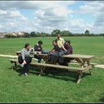 Picnic lunch at Olney