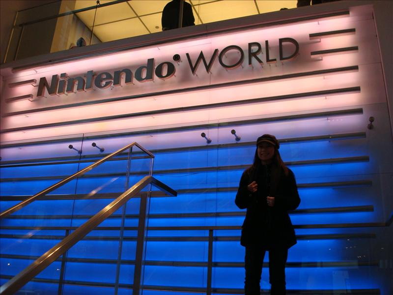 Me, at Nintendo World