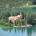 ... an island monastery...