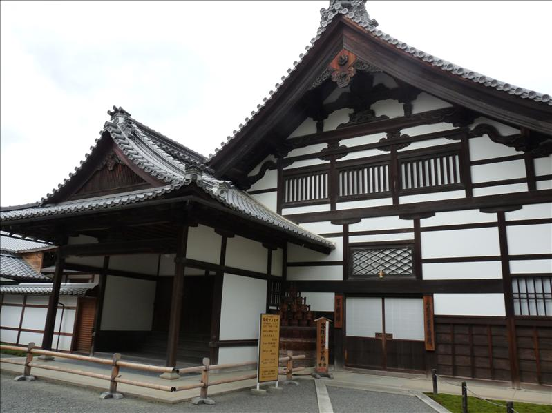 beautifull architecture at kinkakuji
