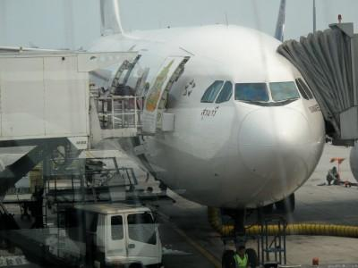 The replacement plane named 'SURANAREE'