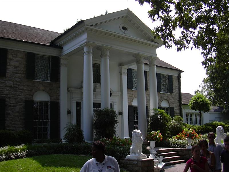 Graceland, the home of Elvis Presley