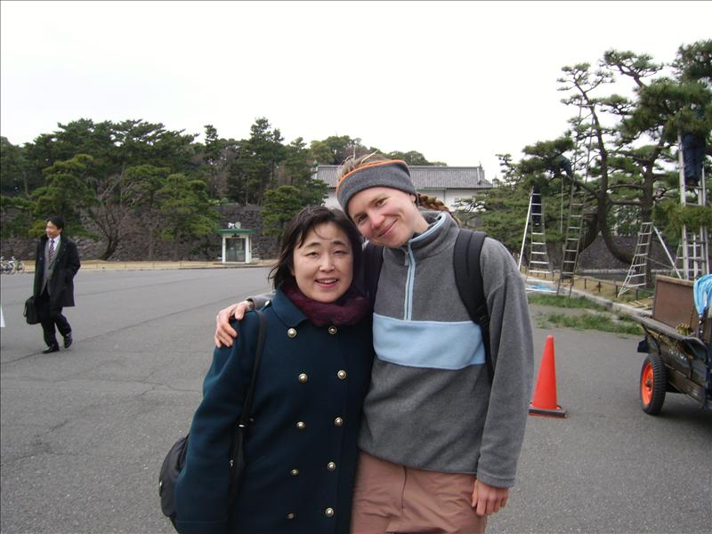 Kimiko•Aline•Imperial Palace•Tokyo