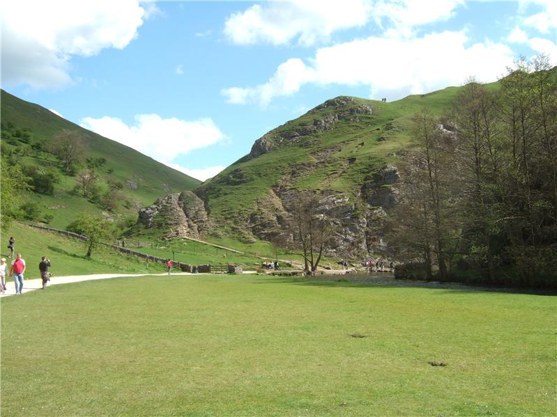In Dovedale