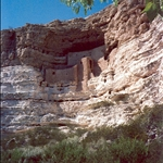 Montezuma Castle, built around 1150.