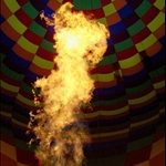 FLAME THROWING, CAPPADOCIA