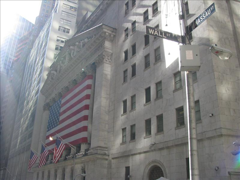 NY stock exchange stond er nog