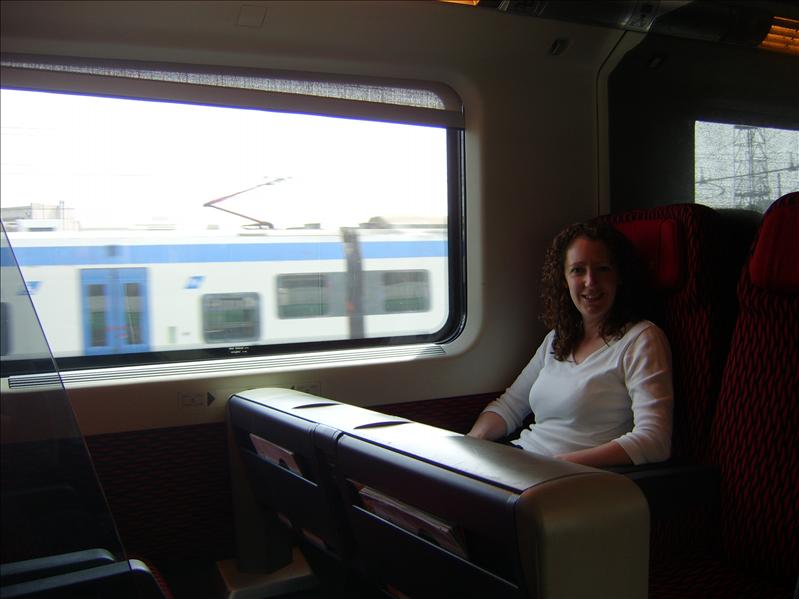Train from Venice to Alto Terme