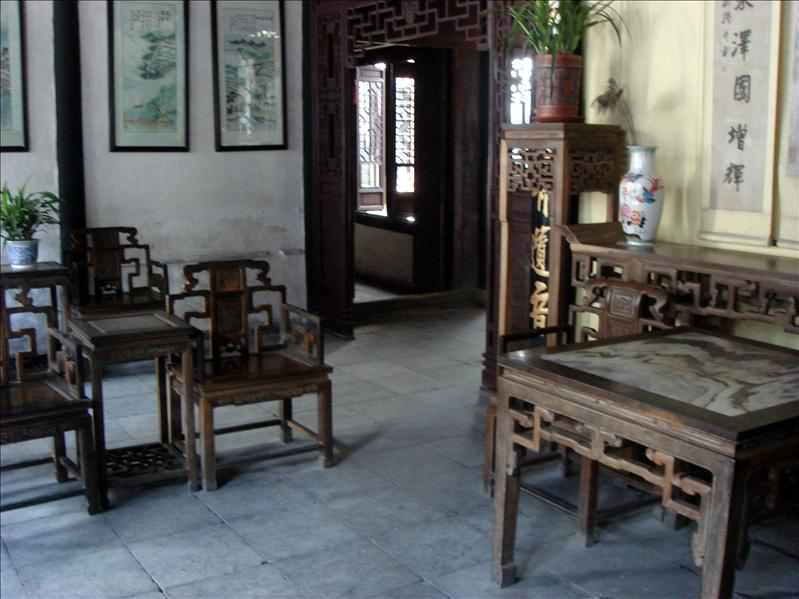 qing dynasty furniture. placements and items all have meanings
