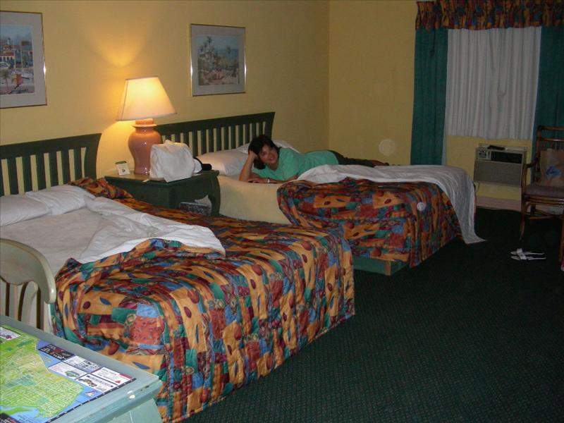 here's our room