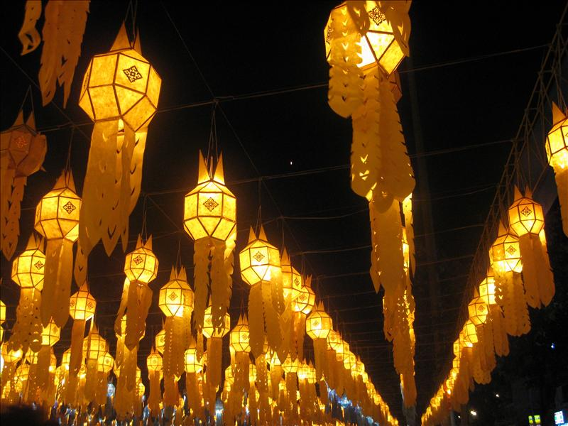 Lights in Chiang Mai