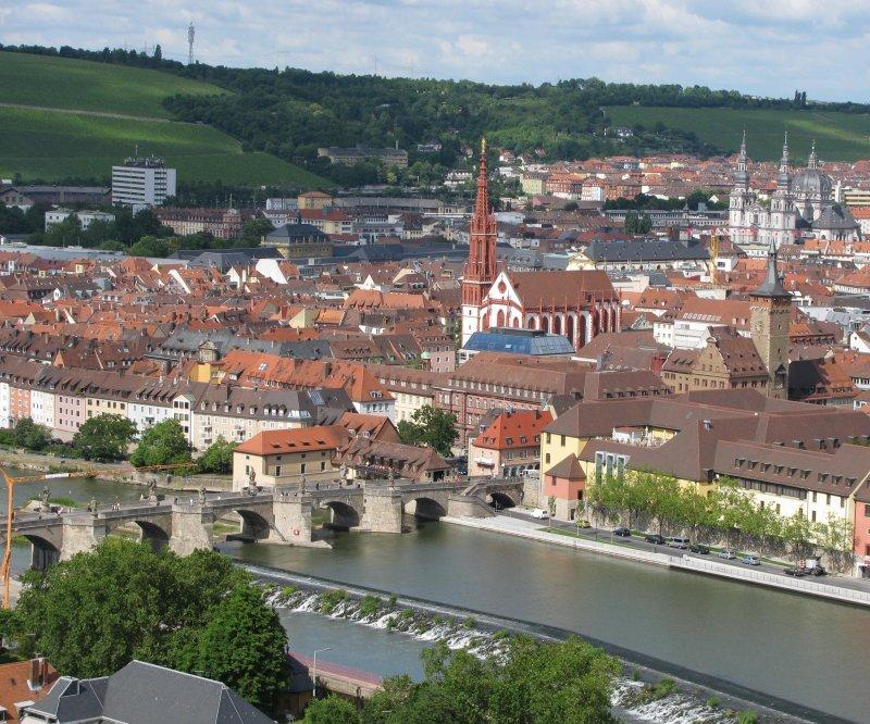 Wurtzburg was a delightful town ...