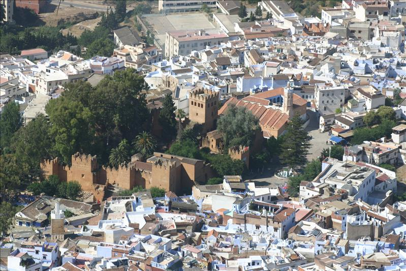 The Kasbah & Grand Mosquee of Chefchaouen