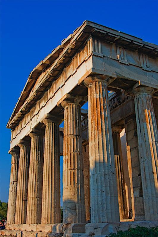 Θησείον (Hephaisteion or Theseion, The Temple of Hephaestus and Athena Ergane)