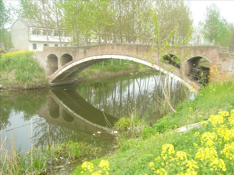 a bridge waiting a person,yancheng