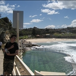 Liam on Bondi to Coogee walk