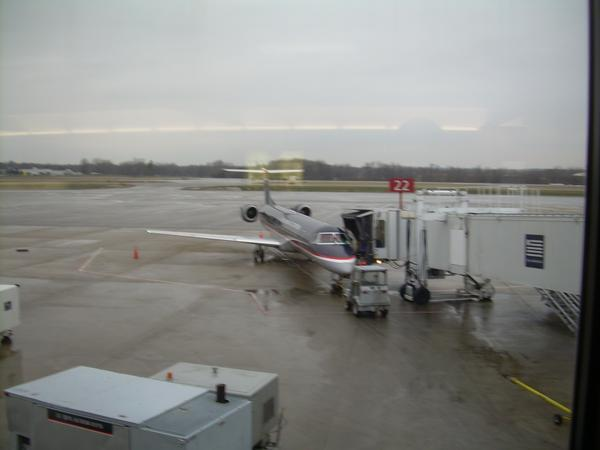 Taken before my flight, from Columbus, home.  Flight departing to Washington D.C.