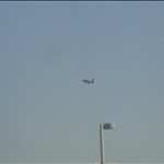 Plane flying out of DC
