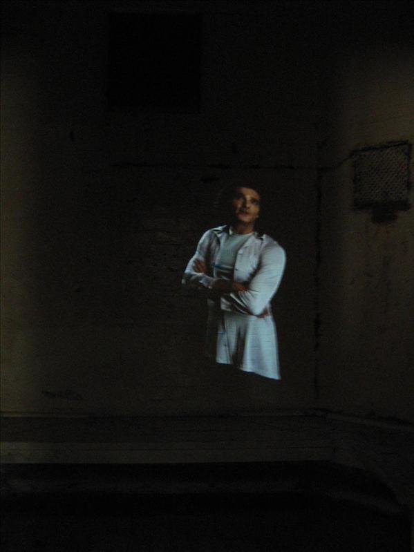 Ghost in Old Melbourne Gaol