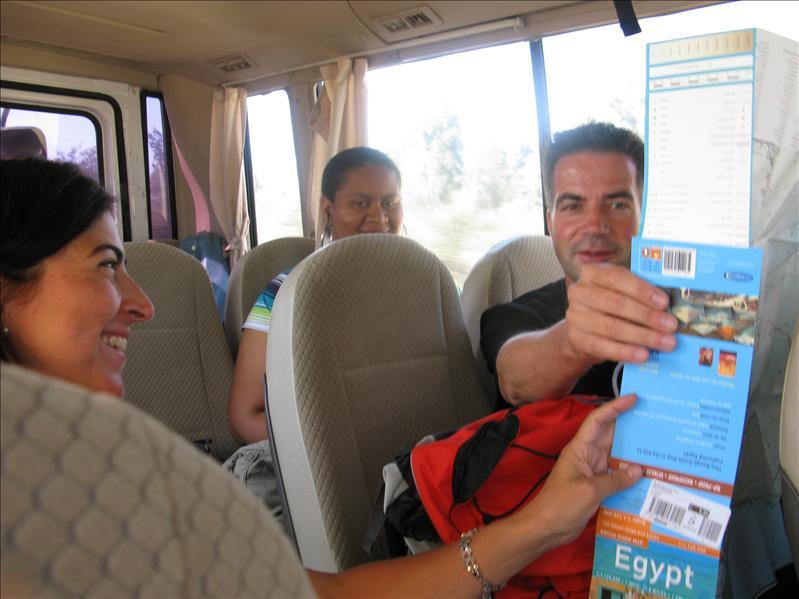 langs egyptische wegen