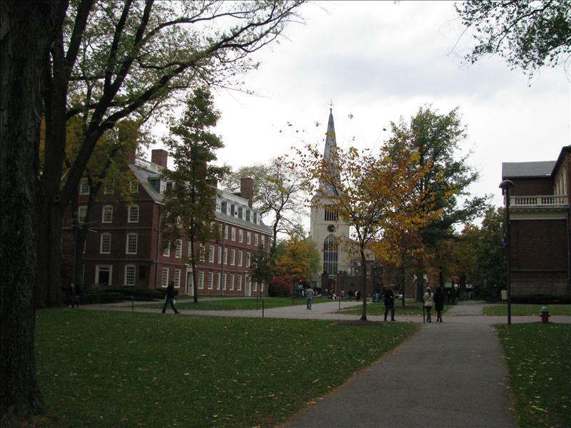 Massachussetts building, oudste Harvard gebouw