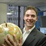 Sean with Virtual world