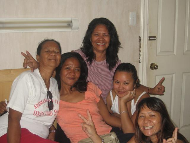 Me and my Mom's sisters.