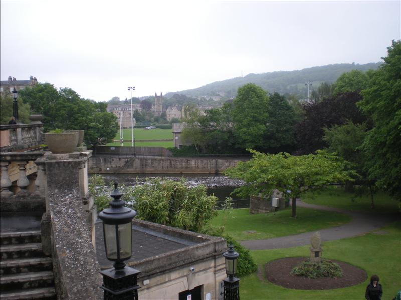 The beautiful town of Bath - 27th May